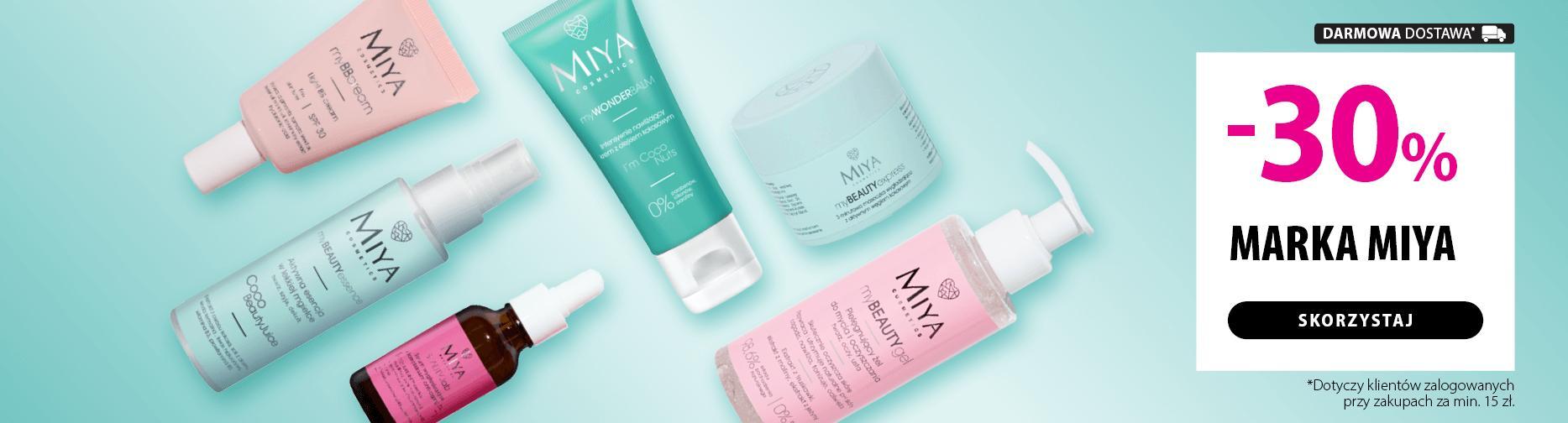 Hebe: 30% zniżki na kosmetyki marki Miya