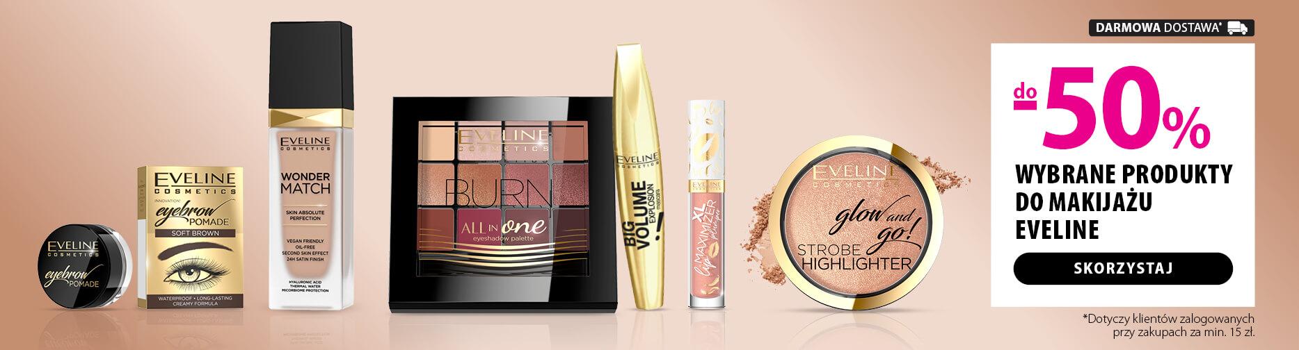 Hebe: do 50% zniżki na wybrane produkty do demakijażu Eveline Cosmetics