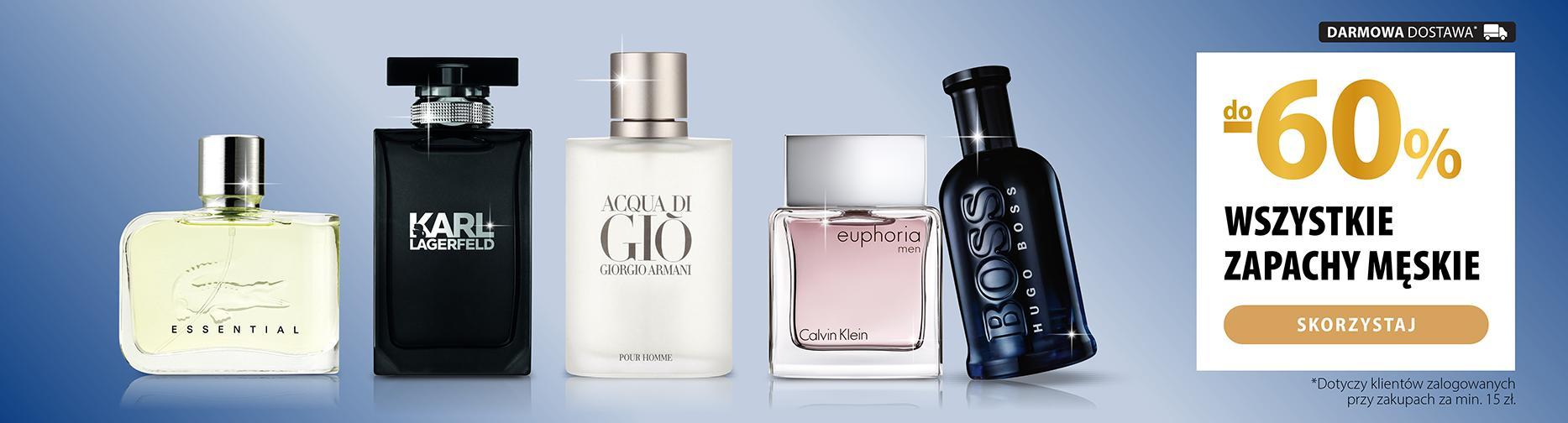 Hebe: do 60% zniżki na wszystkie zapachy męskie