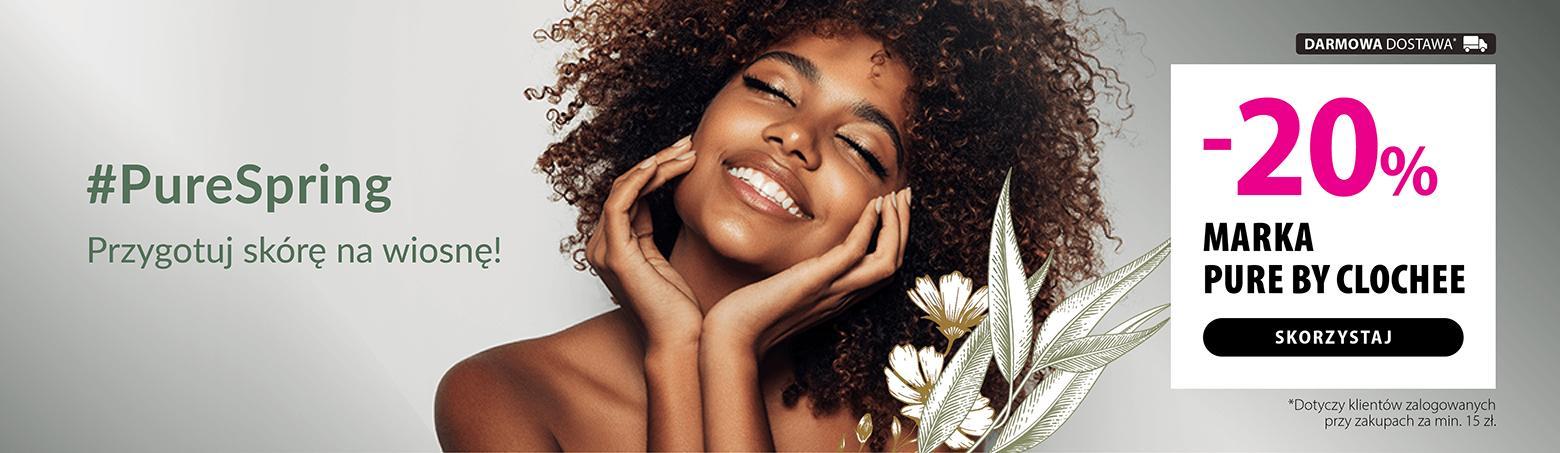 Hebe: 20% rabatu na kosmetyki marki Pure by Clochee