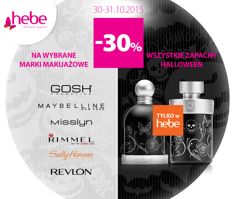 Hebe: 30% zniżki na wybrane produkty