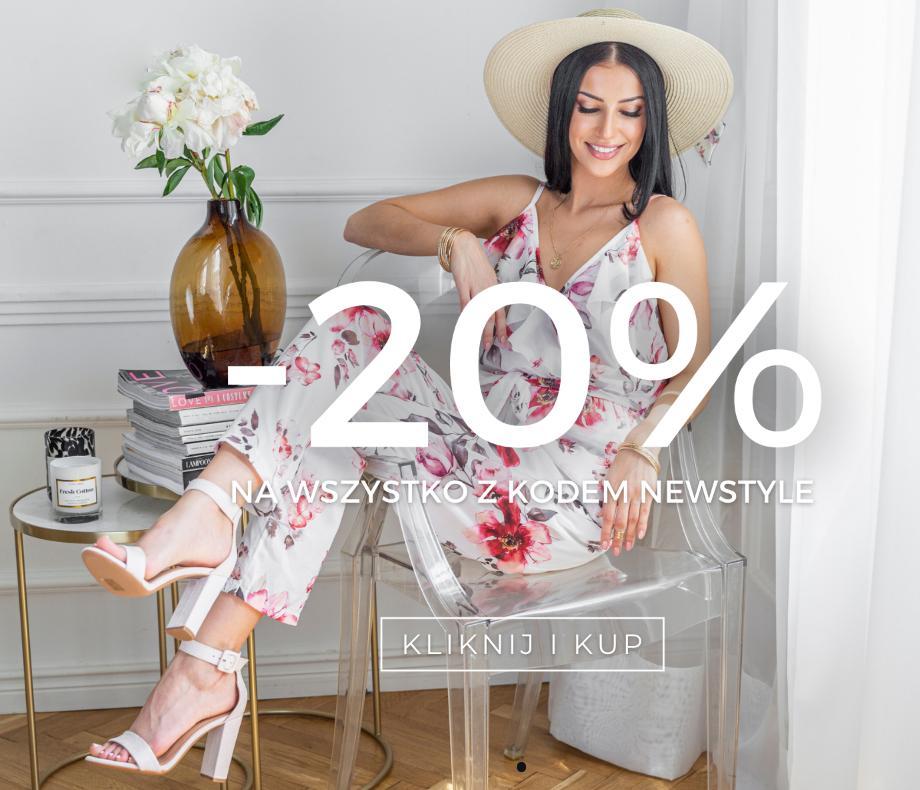 Hers Hers: 20% zniżki na cały asortyment obuwia