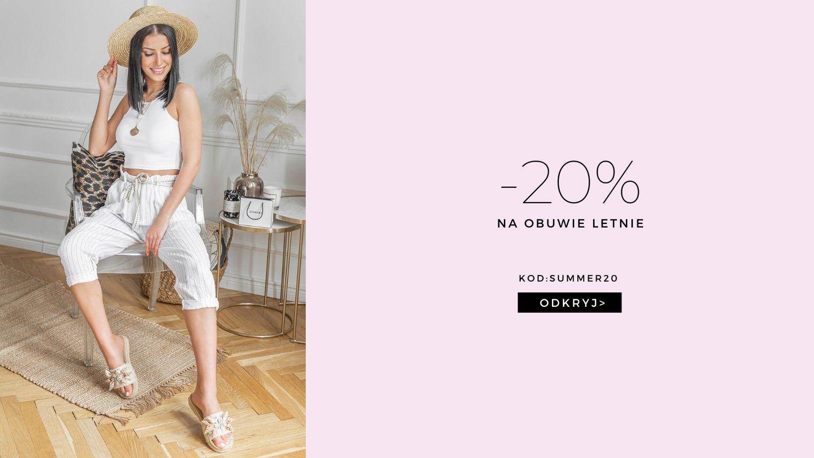 Hers: 20% zniżki na obuwie letnie