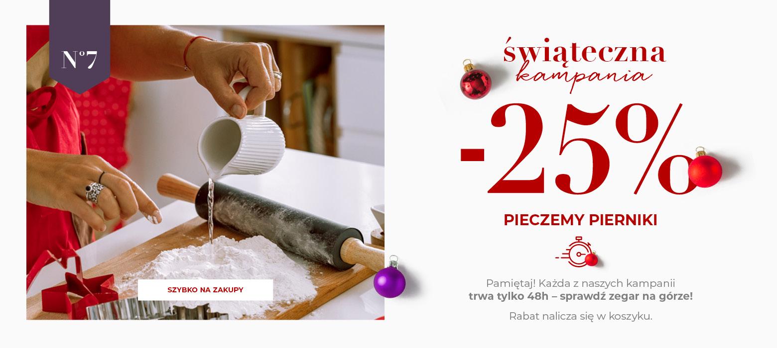 """Home&You: świąteczna kampania 25% zniżki na świąteczną kolekcję """"Pieczemy pierniki"""""""