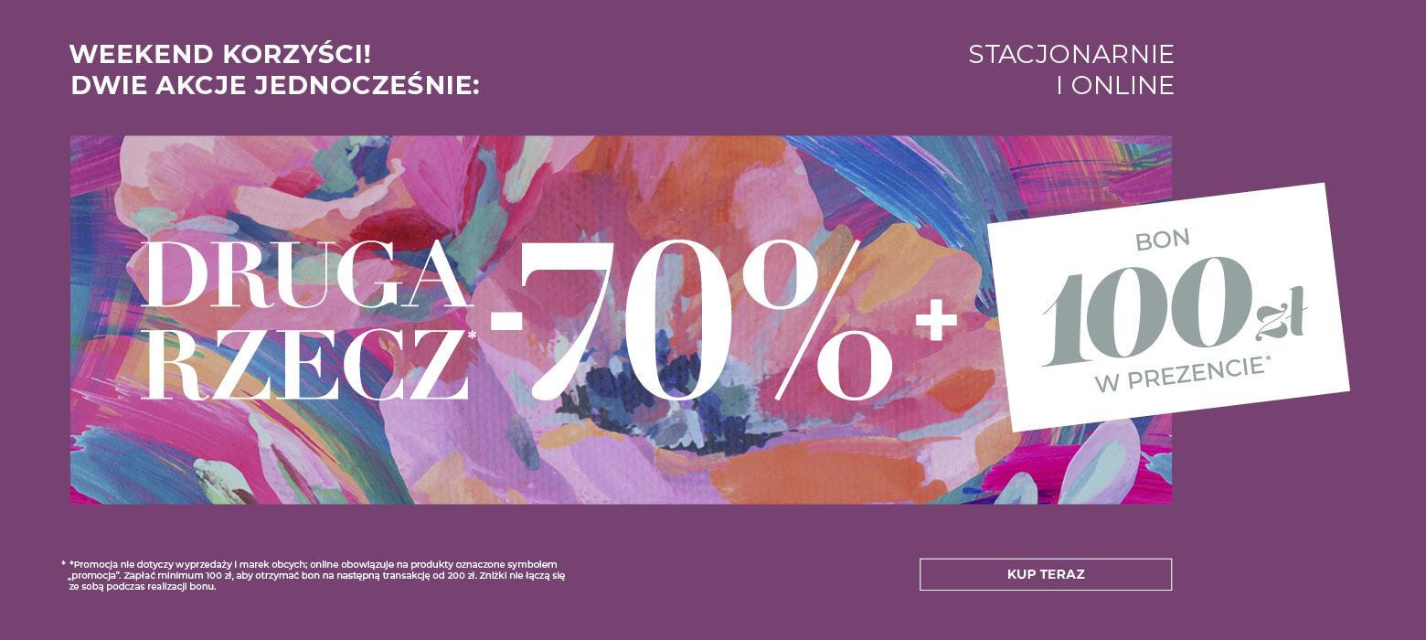 Home&You: 70% zniżki na drugi produkt + 100 zł w prezencie