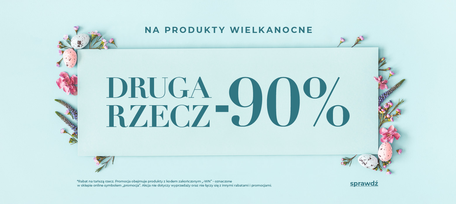 Home&You: 90% zniżki na drugą rzecz - produkty wielkanocne