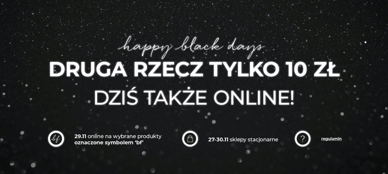Home&You: Black Friday druga rzecz za 10 zł                         title=