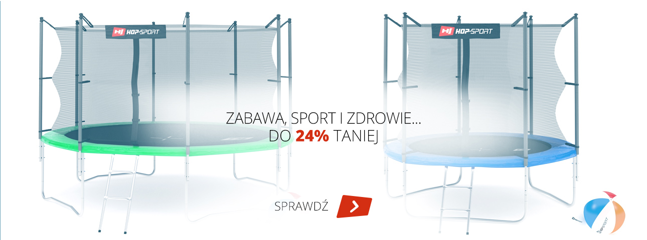 Hop Sport: do 24% zniżki na trampoliny