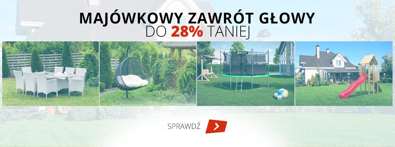 Hop Sport: do 28% rabatu na meble, huśtawki, trampoliny, zjeżdżalnie