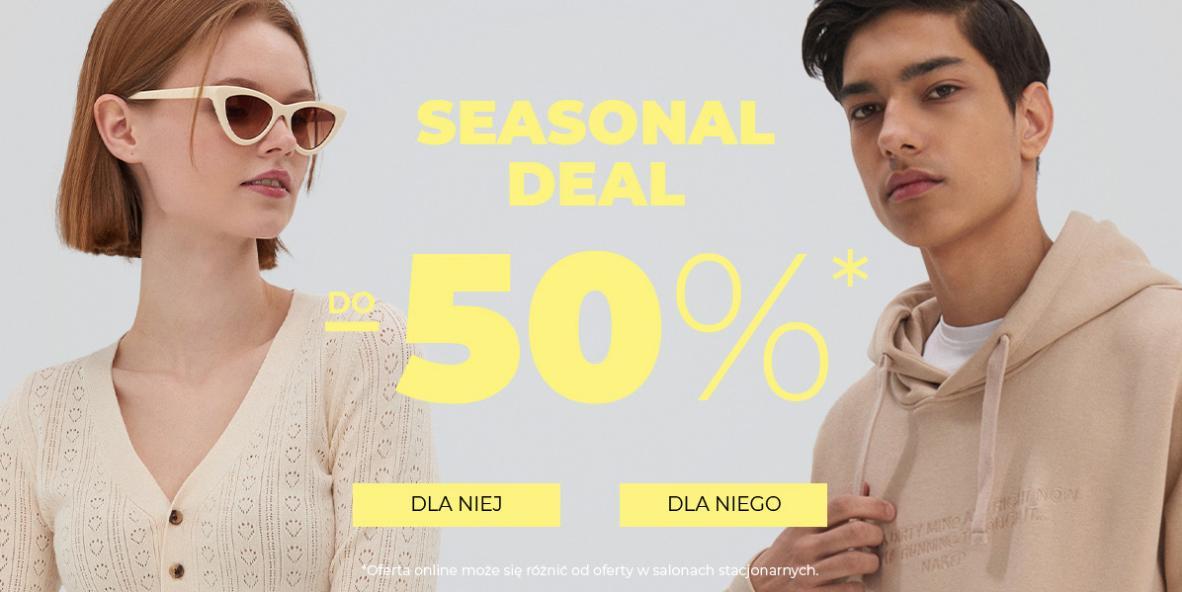 House House: wyprzedaż do 50% zniżki na odzież damską oraz męską