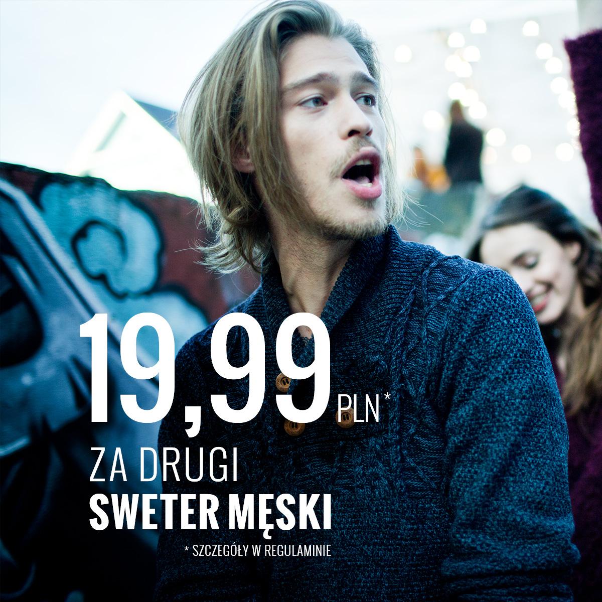 House 19 99 Z Za Drugi Sweter M Ski