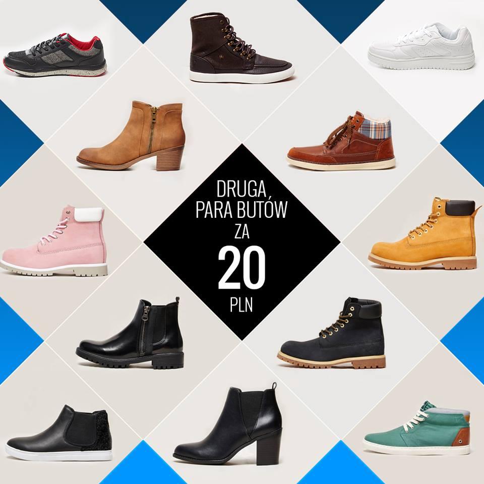 House: druga para butów za 20 zł