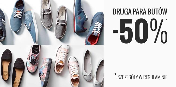 House: 50% rabat na drugą parę butów