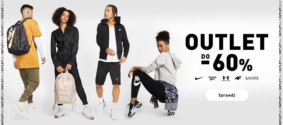 Intersport: do 60% zniżki na odzież i obuwie sportowe znanych marek m.in. Nike, Reebok, Under Armour, 4F