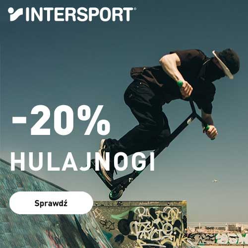 Intersport: 20% rabatu na hulajnogi