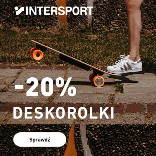 Intersport: 20% zniżki na deskorolki
