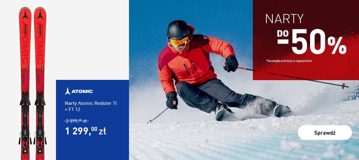 Intersport: do 50% zniżki na narty