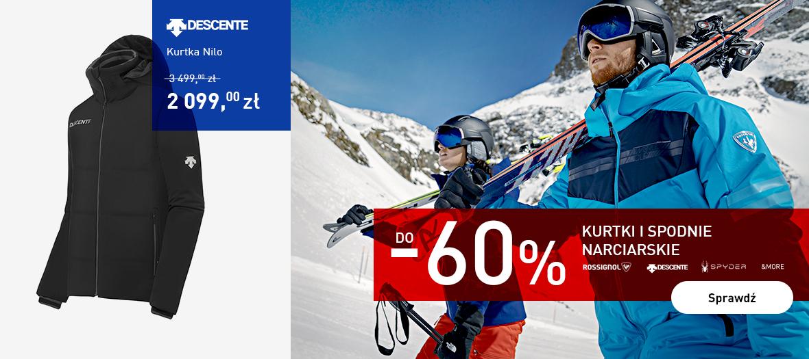 Intersport Intersport: do 60% zniżki na spodnie i kurtki narciarskie
