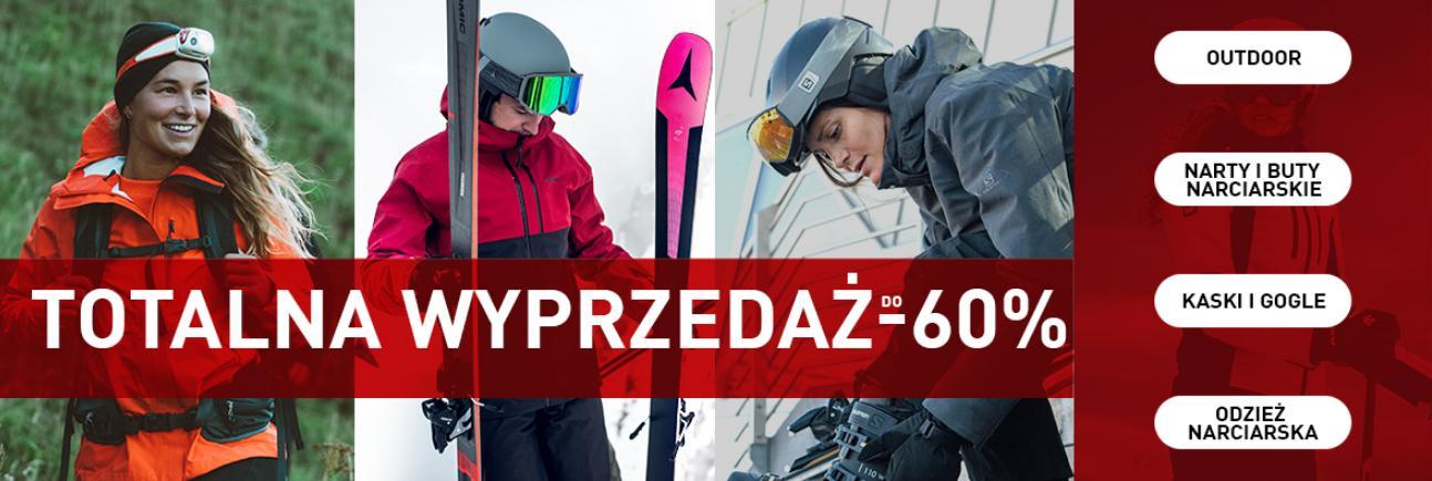 Intersport: wyprzedaż do 60% rabatu na odzież oraz sprzęt narciarski i snowboardowy