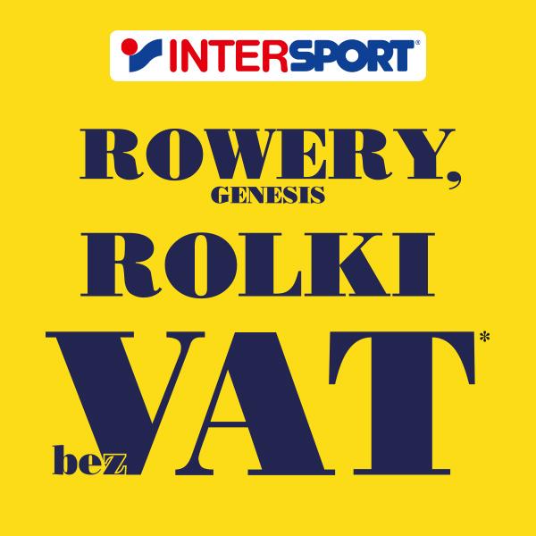 Intersport: rowery i rolki tańsze o VAT