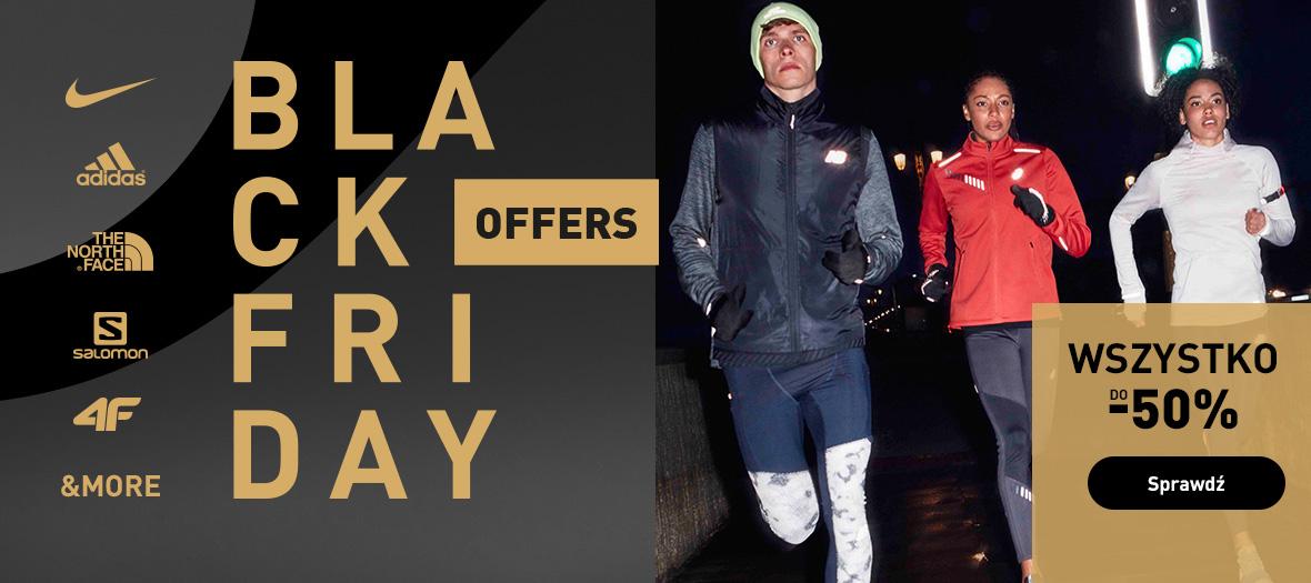 Intersport: Black Friday do 50% zniżki na odzież i obuwie sportowe wielu znanych marek