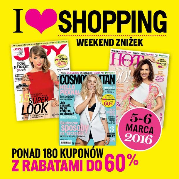Weekend Zniżek w całej Polsce 5-6 marca 2016