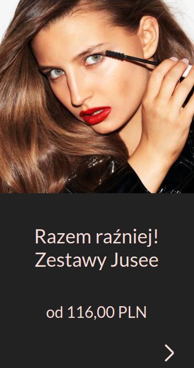 Jusee by Julia Wieniawa Jusee by Julia Wieniawa: zestawy kosmetyków od 116 zł