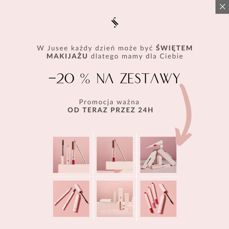 Jusee by Julia Wieniawa: 20% rabatu na zestawy kosmetyków