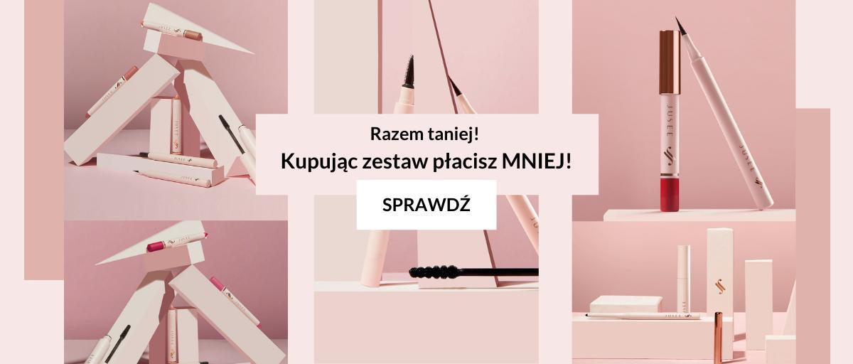 Jusee by Julia Wieniawa Jusee by Julia Wieniawa: kupując zestaw kosmetyków, płacisz mniej