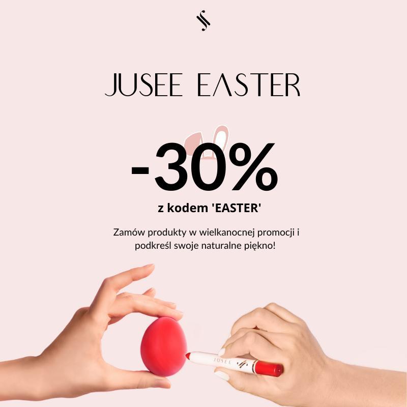 Jusee by Julia Wieniawa Jusee by Julia Wieniawa: 30% rabatu na kosmetyki do makijażu