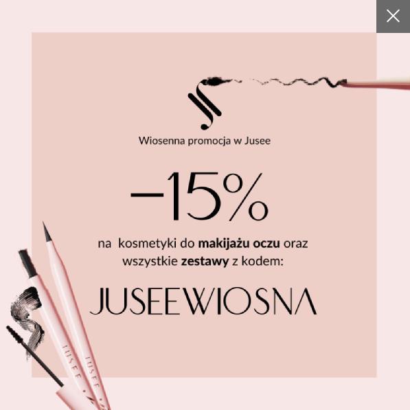 Jusee by Julia Wieniawa Jusee by Julia Wieniawa: 15% rabatu na kosmetyki do makijażu oczu