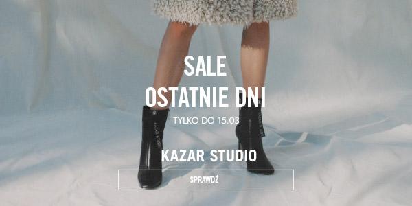 Kazar Studio: wyprzedaż dodatkowe 20% zniżki  na obuwie, torebki i akcesoria