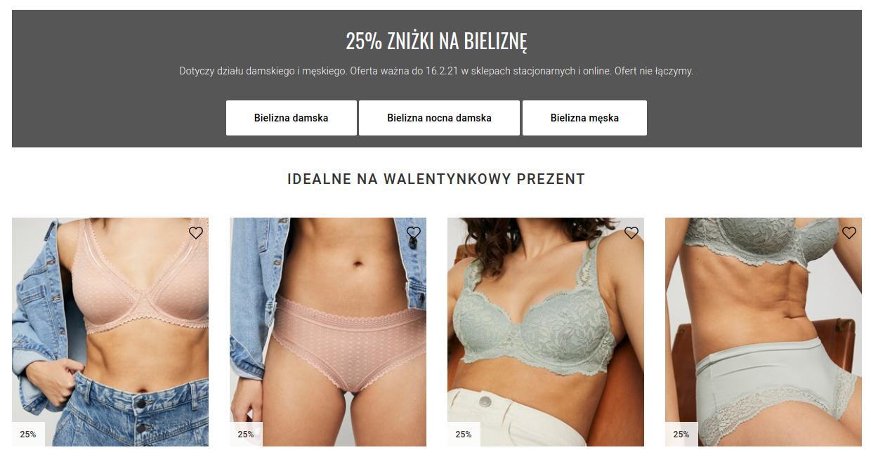 KappAhl KappAhl: 25% rabatu na bieliznę damską oraz męską