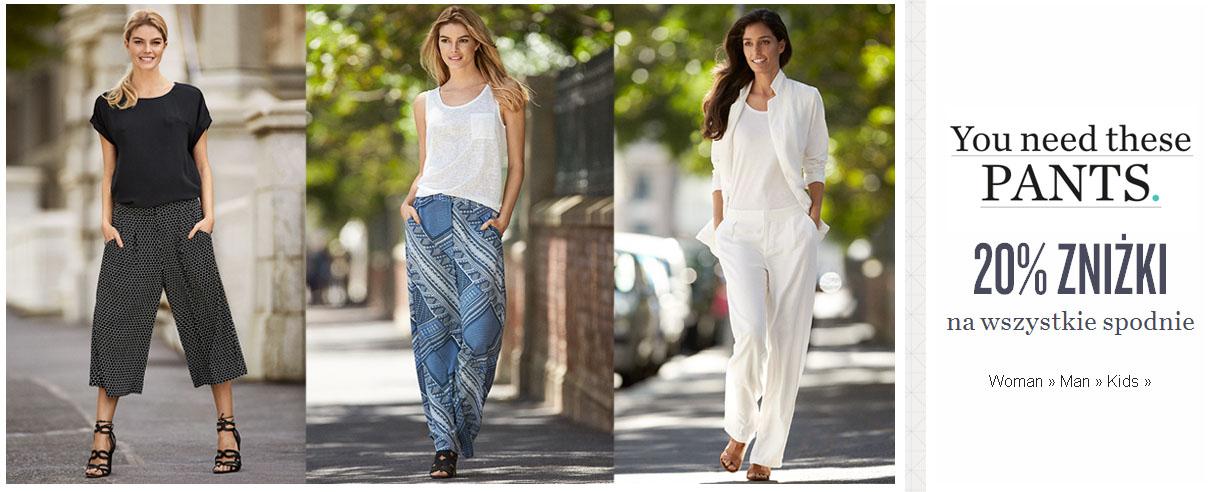 KappAhl: 20% zniżki na wszystkie spodnie