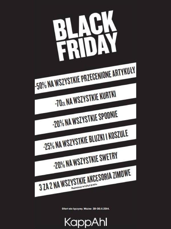 Black Friday w KappAhl: zniżki do 50% przez cały weekend
