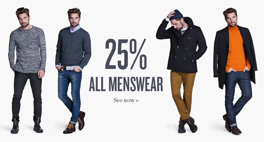 KappAhl: 25% zniżki na kolekcję męską