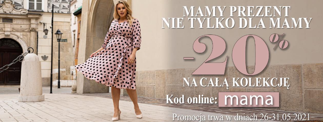 Karko: 20% zniżki na całą kolekcję odzieży damskiej Plus Size