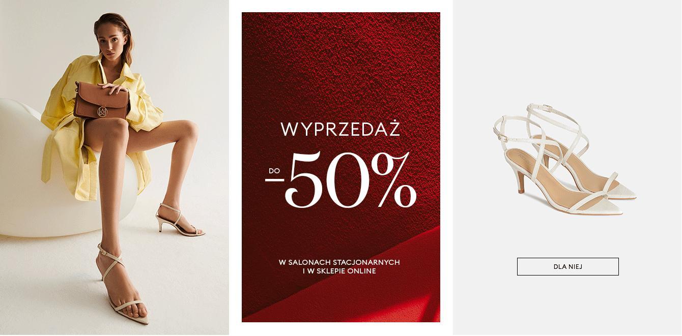 Kazar: do 50% zniżki na buty damskie, buty męskie, torebki oraz akcesoria