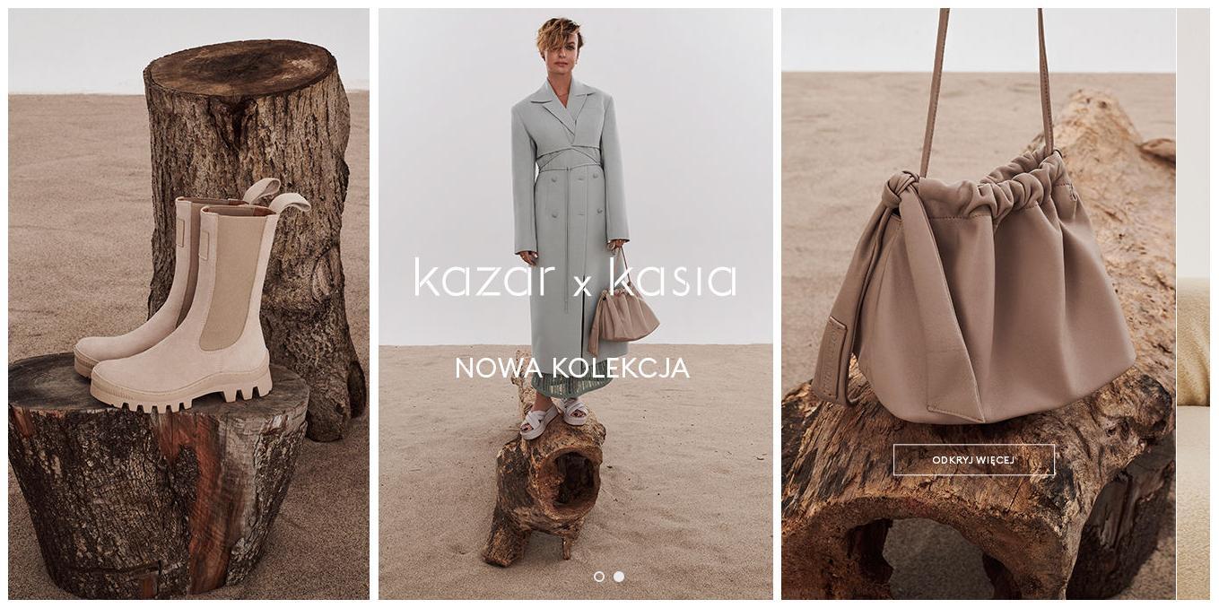 Kazar Kazar: nowa kolekcja kazar x kasia
