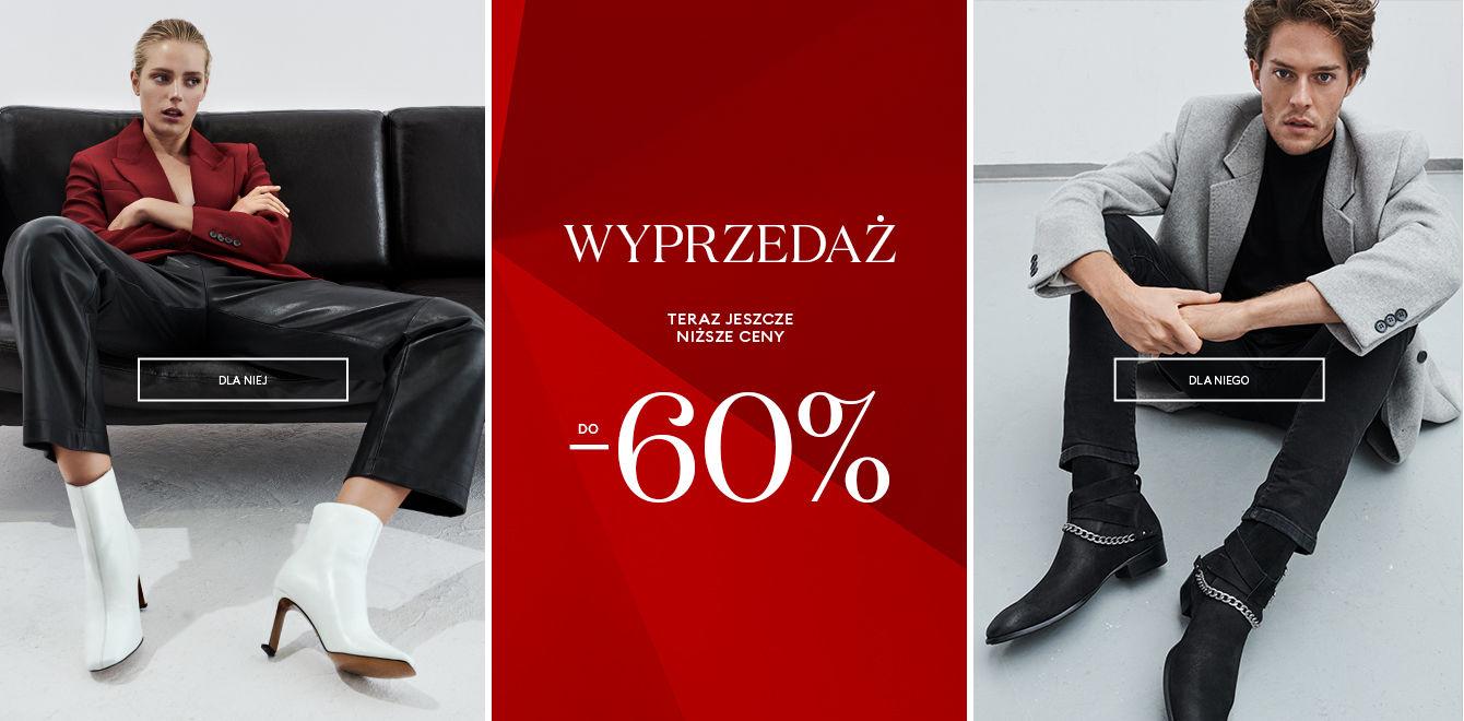 Kazar: wyprzedaż do 60% zniżki na buty, torebki i galanterię skórzaną