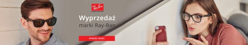 Kodano: wyprzedaż do 30% zniżki na okulary przeciwsłoneczne marki Ray-Ban