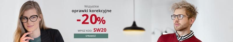 Kodano Kodano: 20% rabatu na wszystkie oprawki korekcyjne