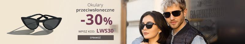 Kodano: 30% rabatu na okulary przeciwsłoneczne