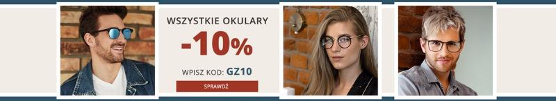 Kodano: 10% rabatu na wszystkie okulary korekcyjne i przeciwsłoneczne
