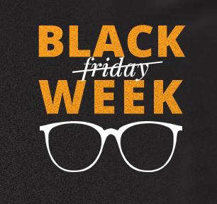 Kodano: Black Week do 80% rabatu na okulary, oprawki, soczewki, okulary przeciwsłoneczne