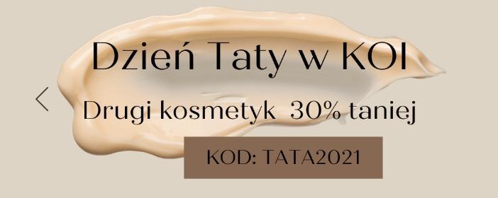 Koi Cosmetics: 30% zniżki na drugi kosmetyk z okazji Dnia Taty