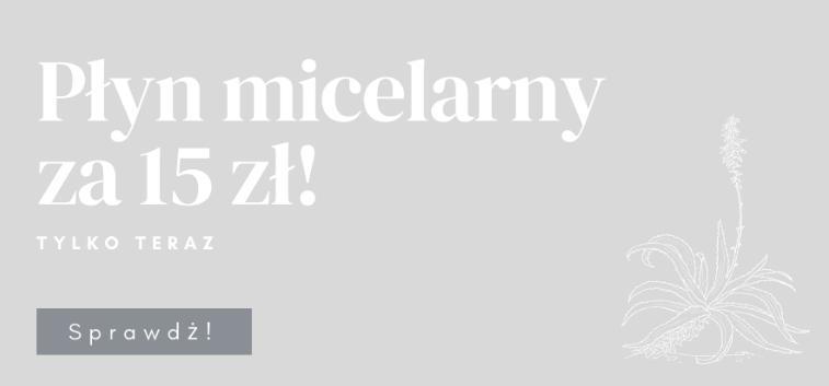 Koi Cosmetics: płyn micelarny za 15 zł