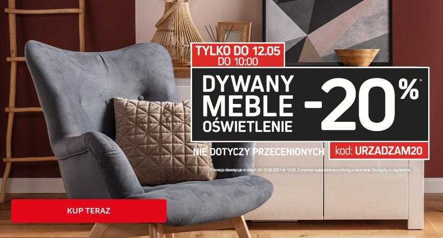 Komfort: 20% zniżki na dywany, meble i oświetlenie