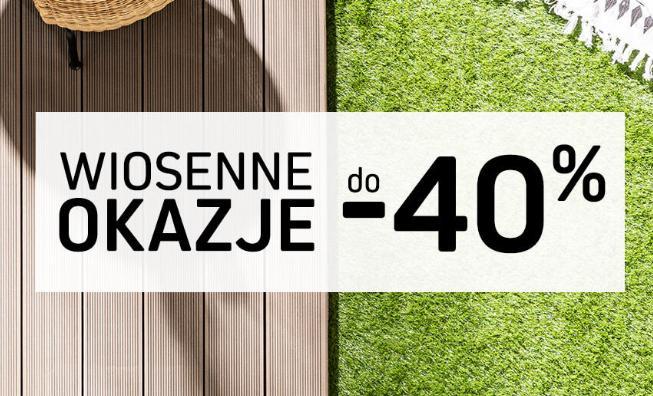 Komfort: do 40% rabatu na produkty do domu i ogrodu - Wiosenne Okazje