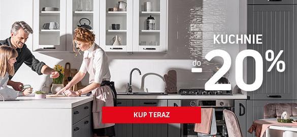 Komfort Komfort: do 20% rabatu na meble kuchenne
